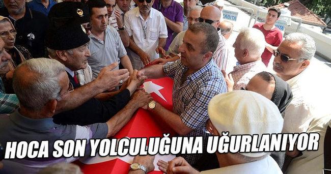 Yaşar Nuri Öztürk son yolculuğuna uğurlanıyor