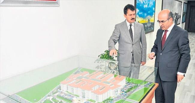 Vali Demirtaş'a projeleri anlattı
