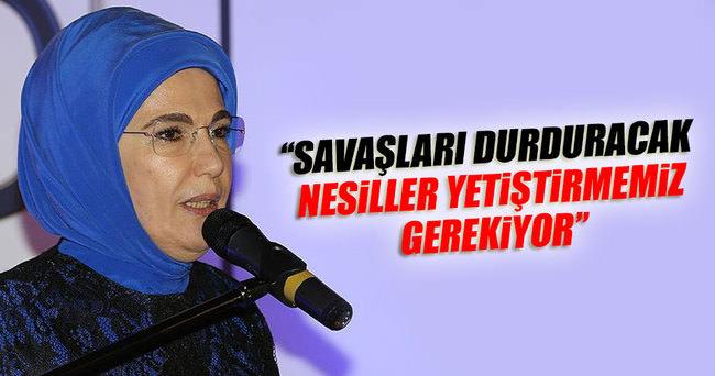 Emine Erdoğan, NEYAD'ın iftarına katıldı