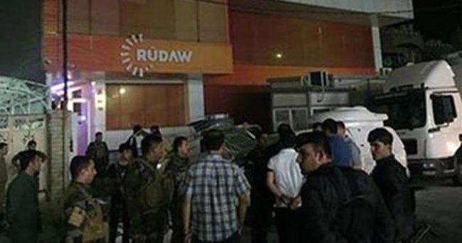 Barzani'ye yakın Rudaw Medya Grubuna bombalı saldırı