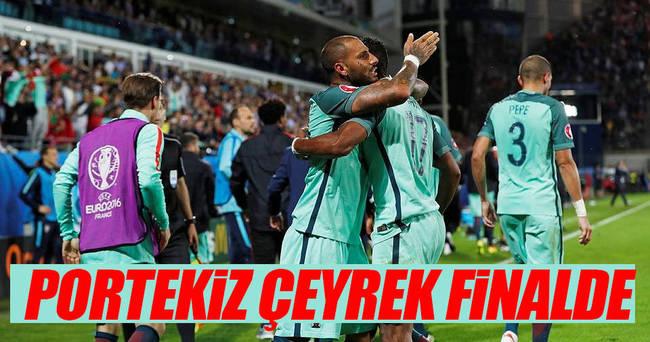 Portekiz çeyrek finalde