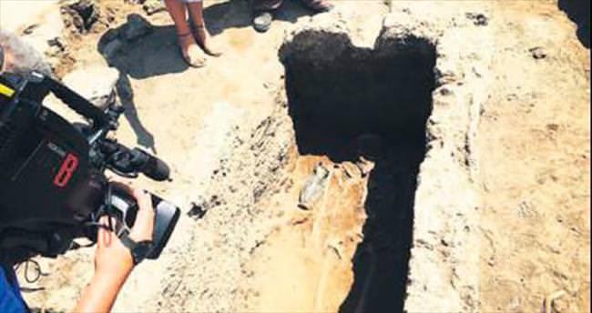 Pompeii'de yeni kazı
