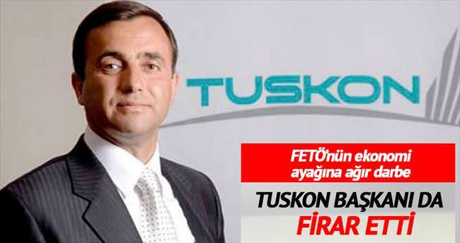 TUSKON Başkanı Meral firar etti
