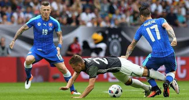 Almanya çeyrek finalde...