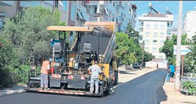 Muratpaşa'da sokaklar yenileniyor