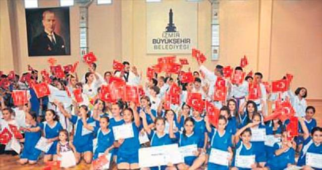 Büyükşehir'in yaz spor okulları açıldı