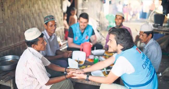 Arakan Müslümanları'na TDV'den ramazan yardımı