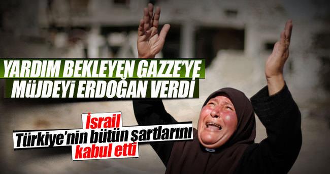 Gazze'de sevinç