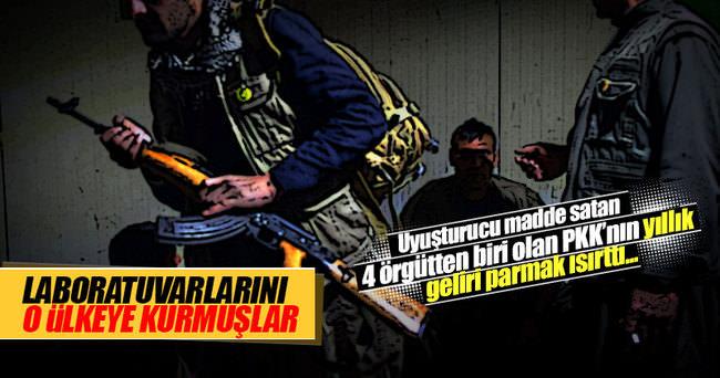PKK'nın uyuşturucudan sağladığı gelir şoke etti!