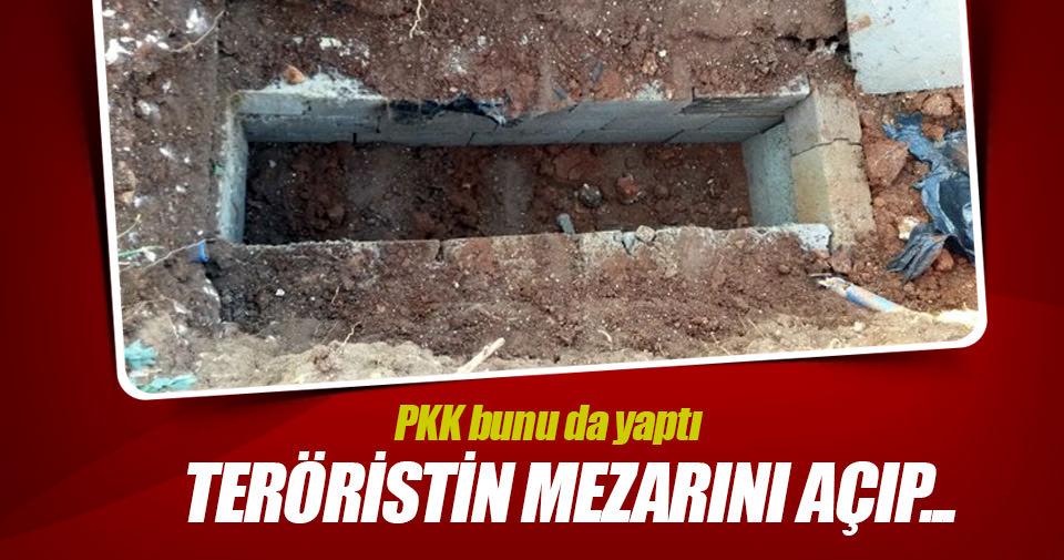 PKK, infaz ettiği teröristin mezarını açıp cesedini kaçırdı