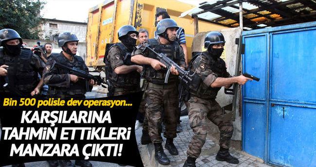 Bin 500 polisle silah kaçakçılığı operasyonu