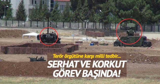 Kilis'te terör örgütlerine karşı önlem