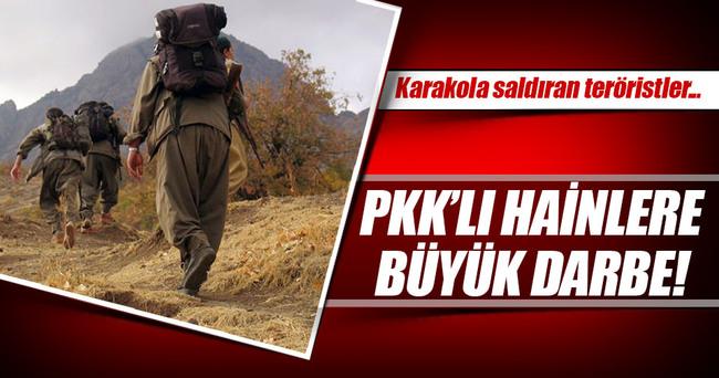 Karakola saldıran PKK'lı 2 terörist öldürüldü!