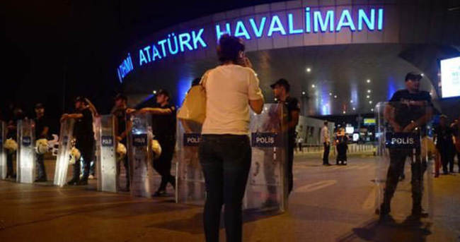 Havalimanı'ndaki saldırı ile ilgili flaş gelişme
