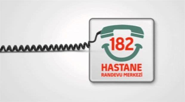 MHRS randevuları çağrı merkezinde! ALO 182