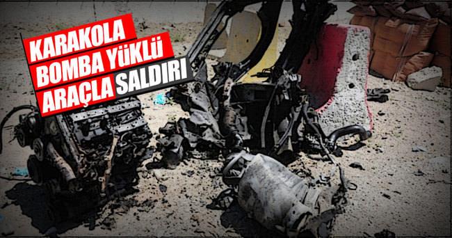 Van'da PKK, bomba yüklü araçla karakola saldırdı