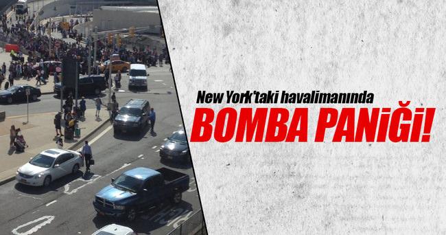 New York'taki havalimanında bomba alarmı