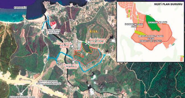 Riva arazisinde % 80'lik 'aslan' payı