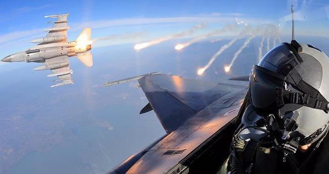TSK'dan Kuzey Irak'a hava operasyon