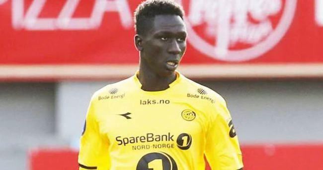 Bursaspor'un yeni transferi Sane Bursa'ya geldi