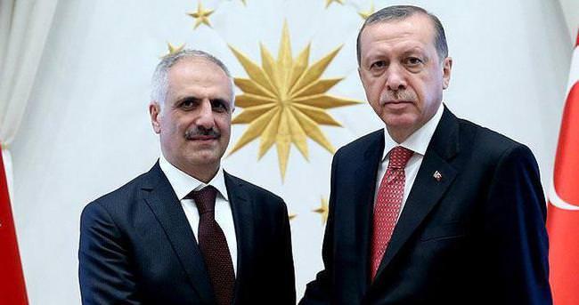 Erdoğan, Hazine Müsteşarı Çelik'i kabul etti