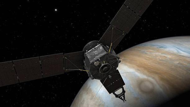 Juno Jüpiter'in manyetik alanına girdi!