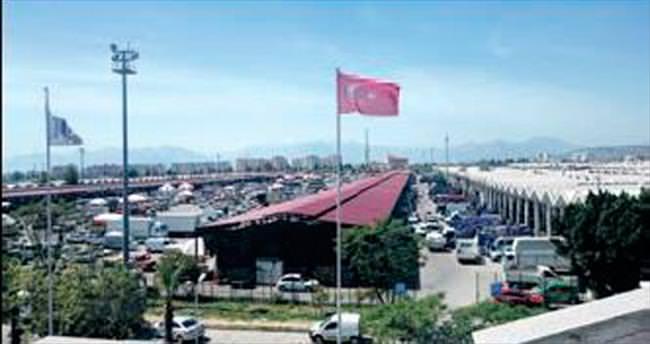 Antalya Toptancı Hali'nde usulsüzlük