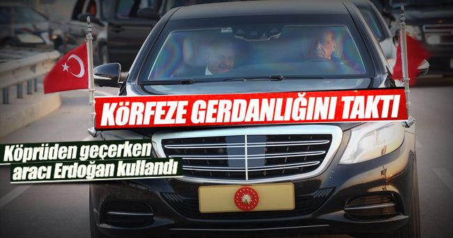 Erdoğan Osmangazi Köprüsü'nün açılış törenine katıldı