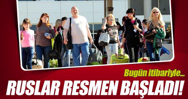 Rus tur operatörleri Türkiye satışlarını başlattı
