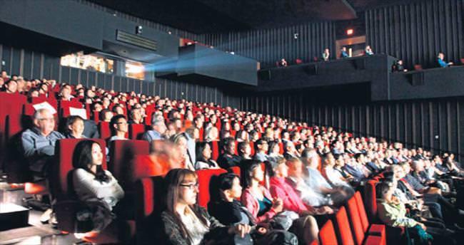 2015'te 57 milyon kişi sinemaya gitti