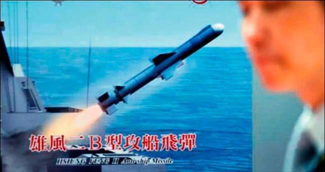 Tayvan ordusu Çin'e yanlışlıkla füze fırlattı