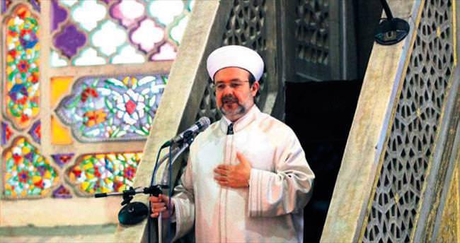 Sultanahmet'te barış hutbesi