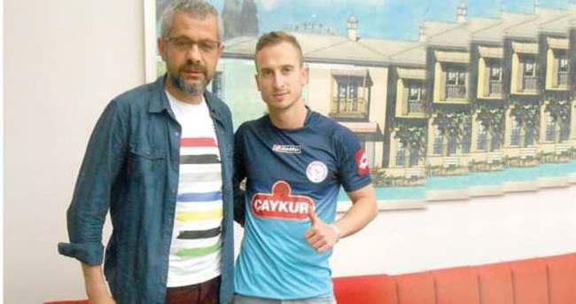 Matic Fink, Rizespor'a imza attı