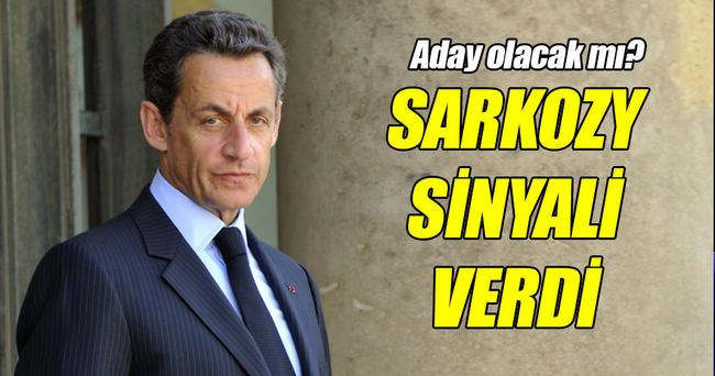 Sarkozy'den cumhurbaşkanlığı yarışı sinyali!