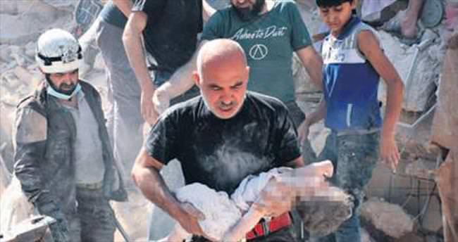 Esad rejiminin hava saldırısında 20 sivil öldü