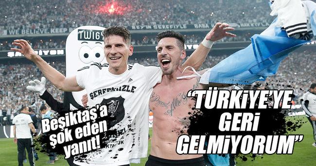 Beşiktaş'ta Sosa krizi: Gelmiyorum