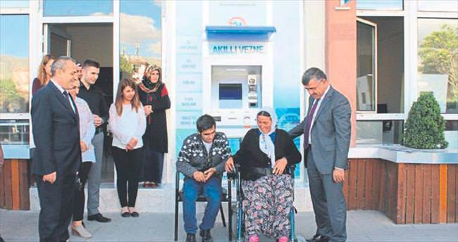 Başkan Akdoğan, engellileri sevindirdi