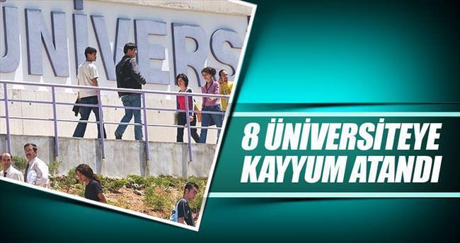 8 üniversite, 400 okula kayyum atandı