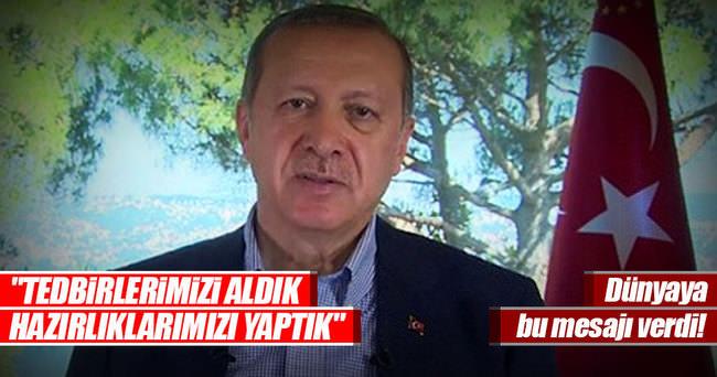 Cumhurbaşkanı Erdoğan'ın bayram mesajında önemli mesajlar