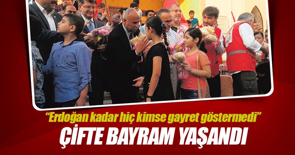 'Erdoğan Filistin'e çifte bayram yaşattı'