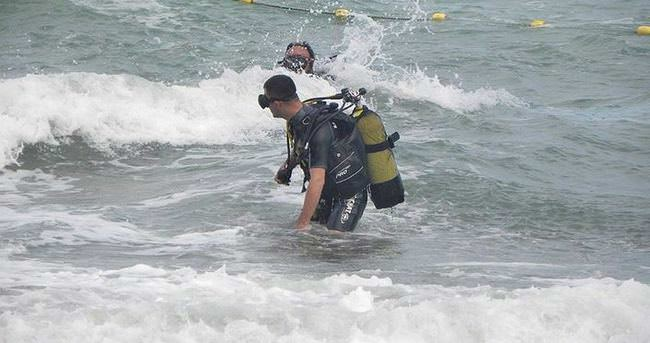 Ağabeyini kurtarmak isterken dalgalara kapılarak kayboldu