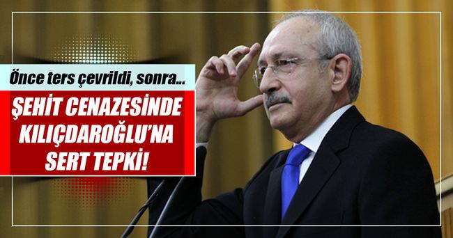 Kılıçdaroğlu'na şehit cenazesinde sert tepki!