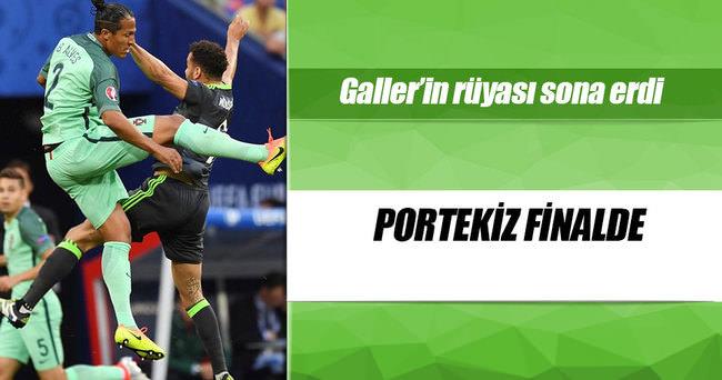 Euro 2016'da Portekiz finale yükseldi