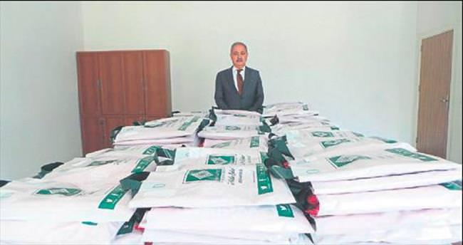 Osmaniye Belediyesi yetimleri sevindirdi