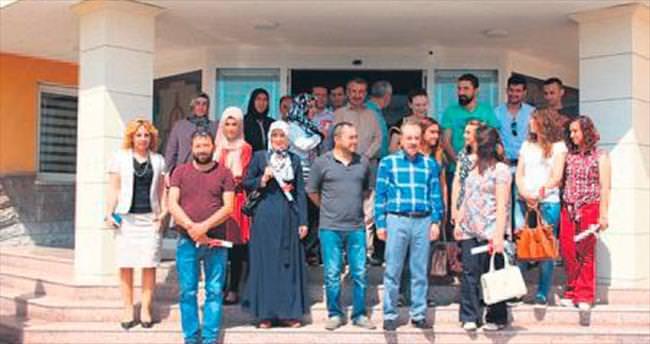 Elmadağ'da girişimciler sertifikalarını aldı