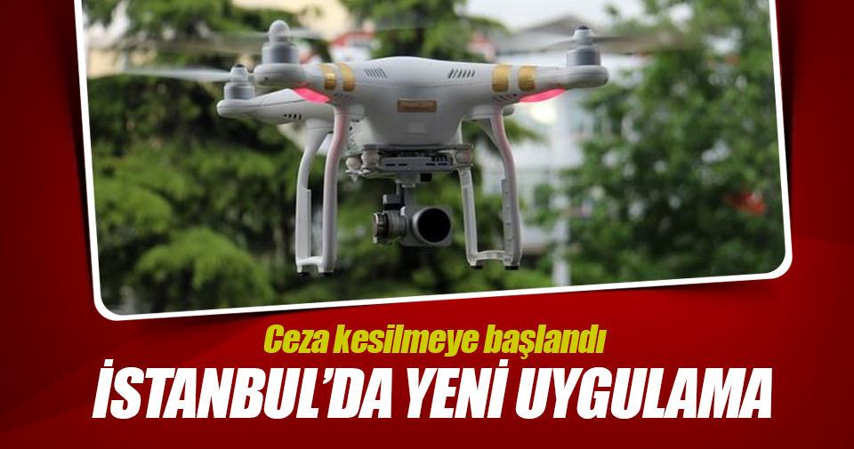 İstanbul'da denizi kirletenleri İHA yakalayacak