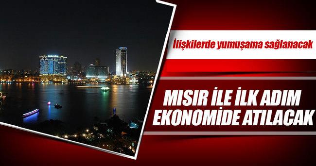 Mısır'la ilk adım ekonomide