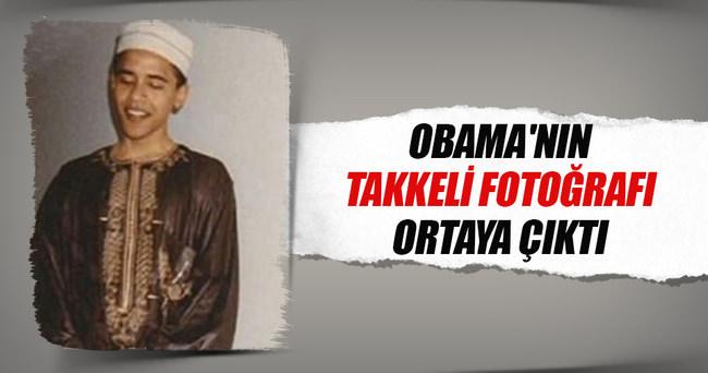 Obama'nın takkeli fotoğrafı ortaya çıktı
