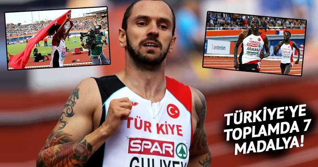 Türkiye, şampiyonada 2 altın, 2 gümüş kazandı