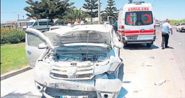 Zincirleme kazada 7 yaralı